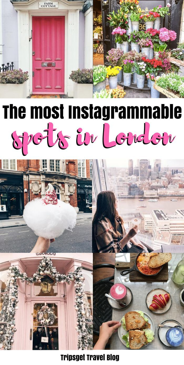 The most instagrammable places in London