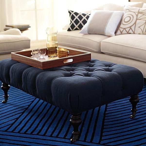 Essex Coffee Table Ottoman Serena Lily Domino Com Ottoman Coffee Table Leather Ottoman Coffee Table Ottoman Table