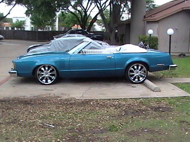 Heritage Car Wash: 79 Thunderbird VERT!!