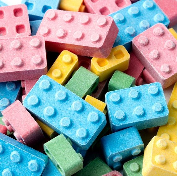 Lego Candy Building Block Candy Candy Blox Lego by ThePartyGnome