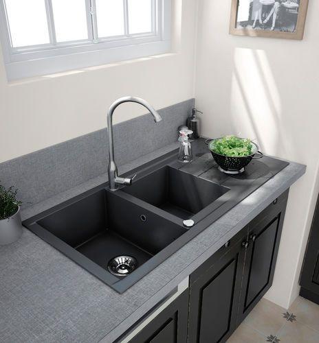 evier choisir sa forme et ses dimensions am nagement de la maison pinterest vier de. Black Bedroom Furniture Sets. Home Design Ideas