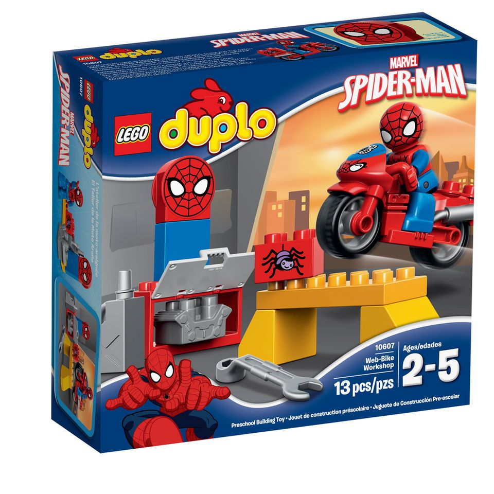 LEGO DUPLO Disney SpiderMan Web Bike Workshop Gift Ideas