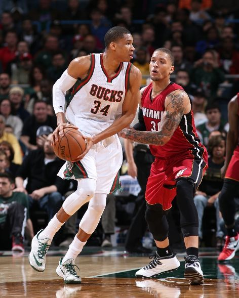 Miami Heat Vs Milwaukee Bucks Photos March 24 2015 Espn Los Angeles Lakers Basketball Los Angeles Lakers Lakers Basketball