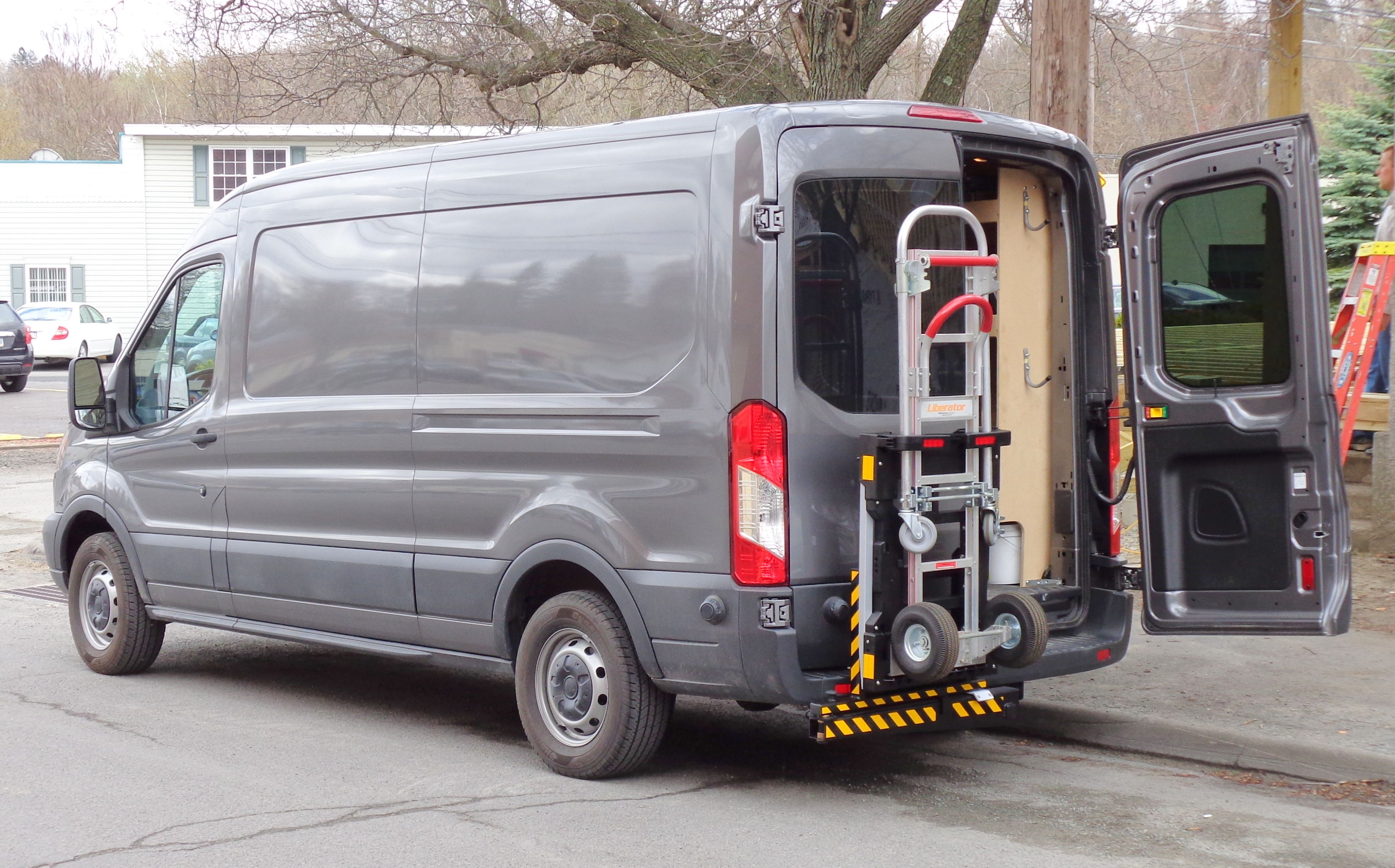 Hts Systems Hts 20sfth Hand Truck Sentry System Reduces Physical Effort Route Delivery Time Labor Costs Fuel Expenses Ford Transit Van Delivery Driver Jobs
