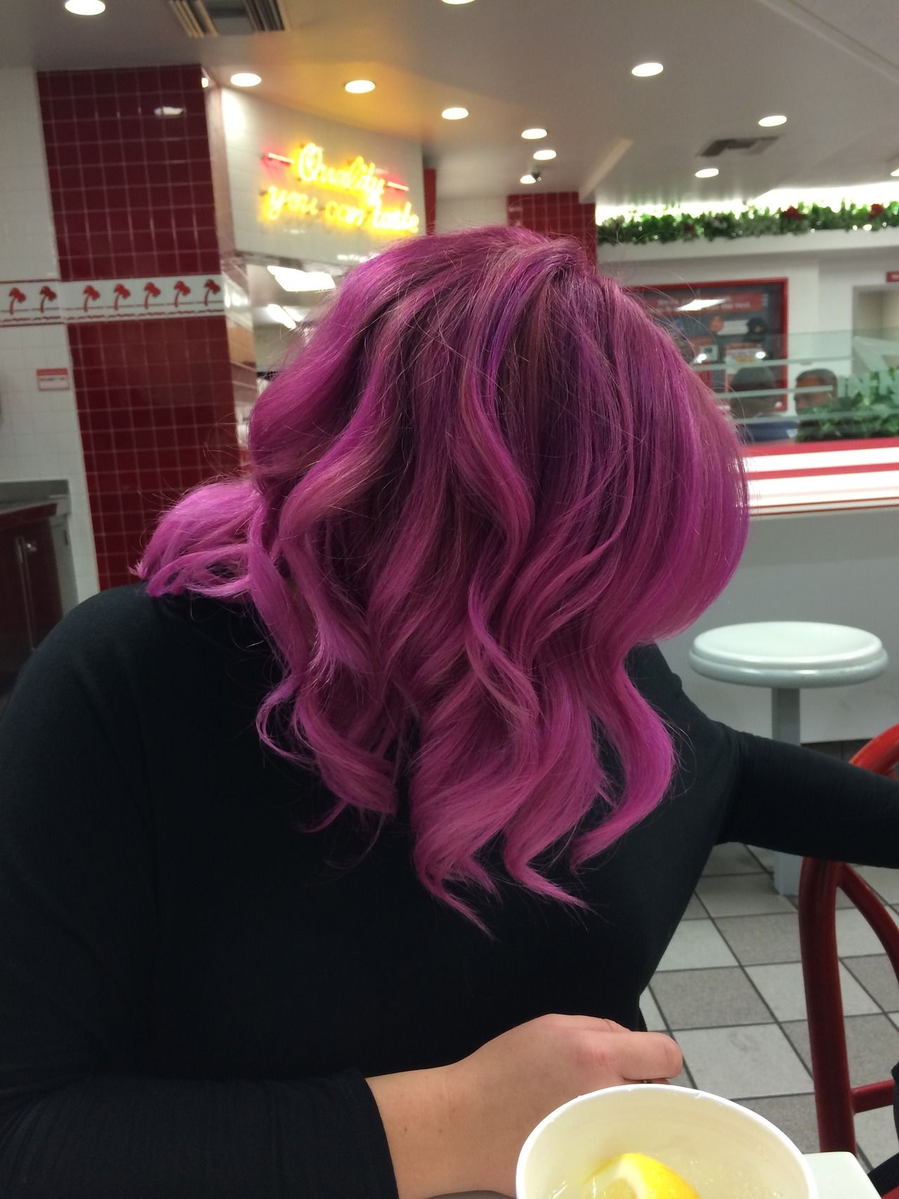 Outstanding Dimensional Pink 3 Products Used Joico Vero K Pak Orchid And Short Hairstyles Gunalazisus