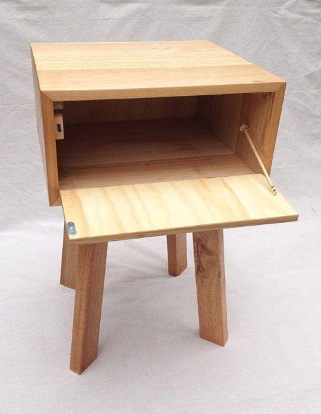 Bedside Footstool: Step Stool, Bedside Table, Decor