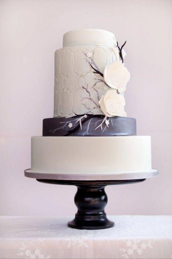 Wedding cake modern  modern wedding cakes   ... Bakery, Modern Wedding Cake, Cake with ...