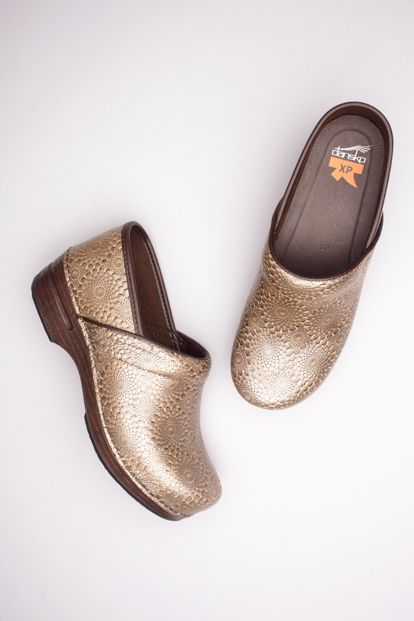 efab2f77192b The Dansko Bronze Medallion Embossed Patent from the Pro XP collection.