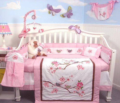 Baby Bedding With Love Birds