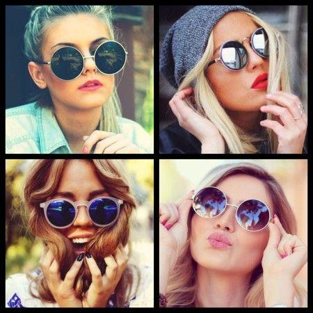 4cfea5a47 lindos modelos de oculos de sol femininos redondos … | LILAC ÓcuLLOs ...