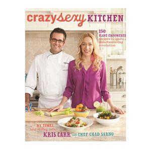 Kris Carr and Chad Sarno's new vegan cookbook