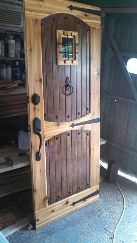 Puerta para garage ideas para el hogar pinterest for Puertas de madera para garage