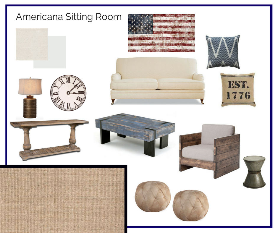 Room In A Box American Sitting Room Room Interior Design Home