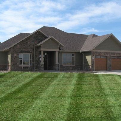 Green siding 1 086 lp smartside home design photos for Smartside colors