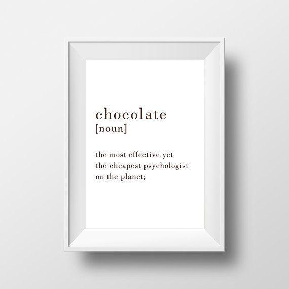 ★ Chocolate Definition / 50x70 (für andere Größen bitte eine Nachricht hinterlassen. ...  #andere #bitte #chocolate #definition #hinterlassen #nachricht