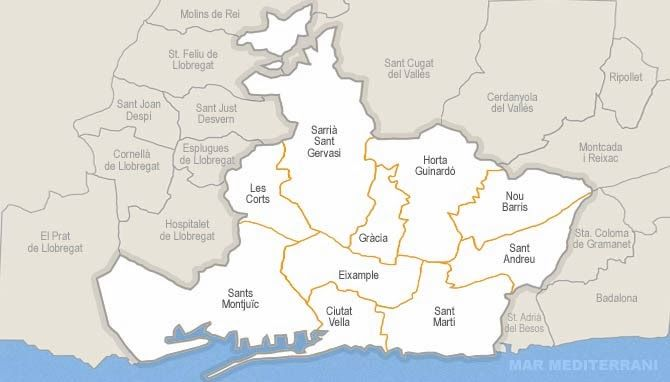 Gremios Barcelona Mapa Google Search Sitges Planos Inmueble