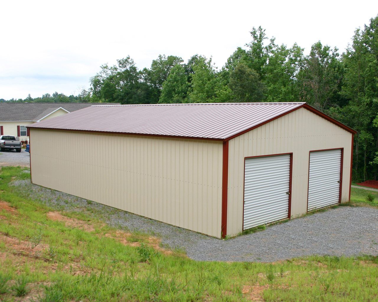 30 X 41 X 12 All Vertical Garage Choice Metal Buildings Metal Buildings Metal Building Homes Metal Garages