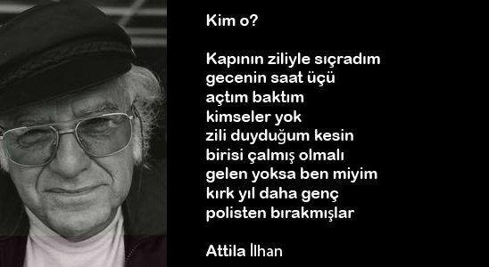 Attila Ilhan şiirleri Ve Sözleri Atilla Ilhan