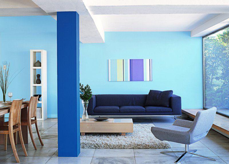 Moderne wandfarben f rs jahr 2016 welche sind die neuen - Wandfarben kombinieren ...