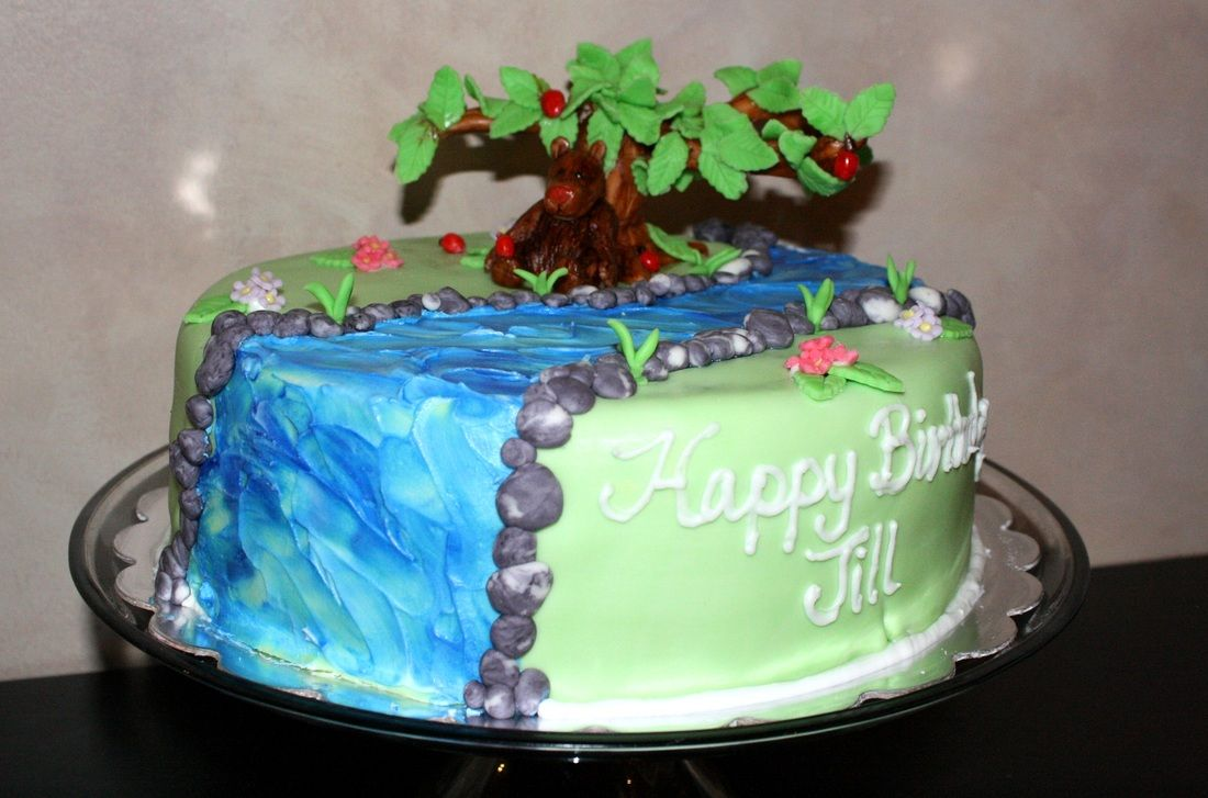 Nature Themed Cake Amazing Cakes Pinterest Amazing cakes