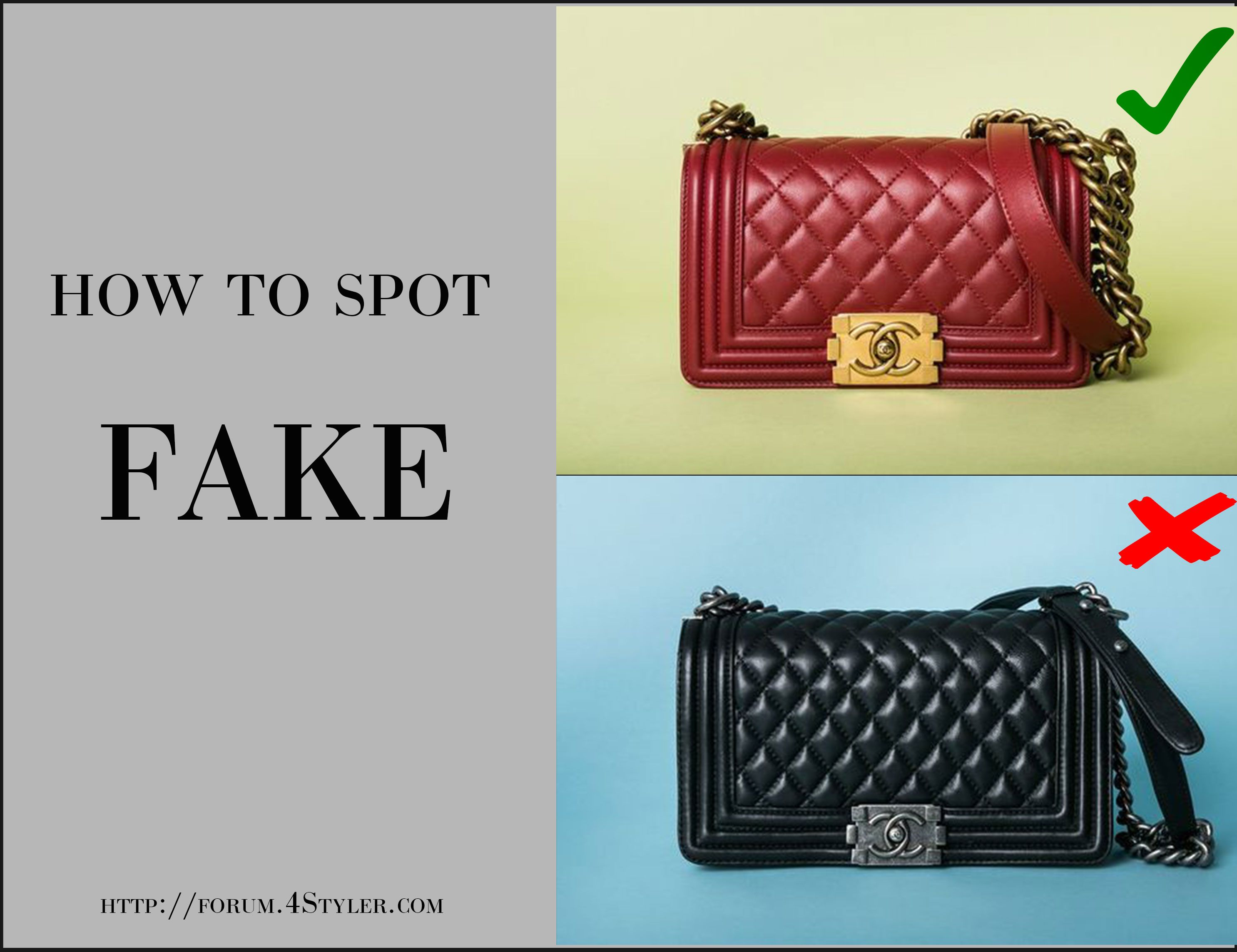 97beca42b1fa Read how to spot FAKE luxury clothes at our fashion forum  faske  chanel   bag  255  handbag  crossbody