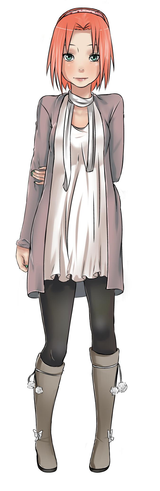 Sakura Haruno fan art Anime (〜 ̄  ̄)〜 Pinterest Sakura