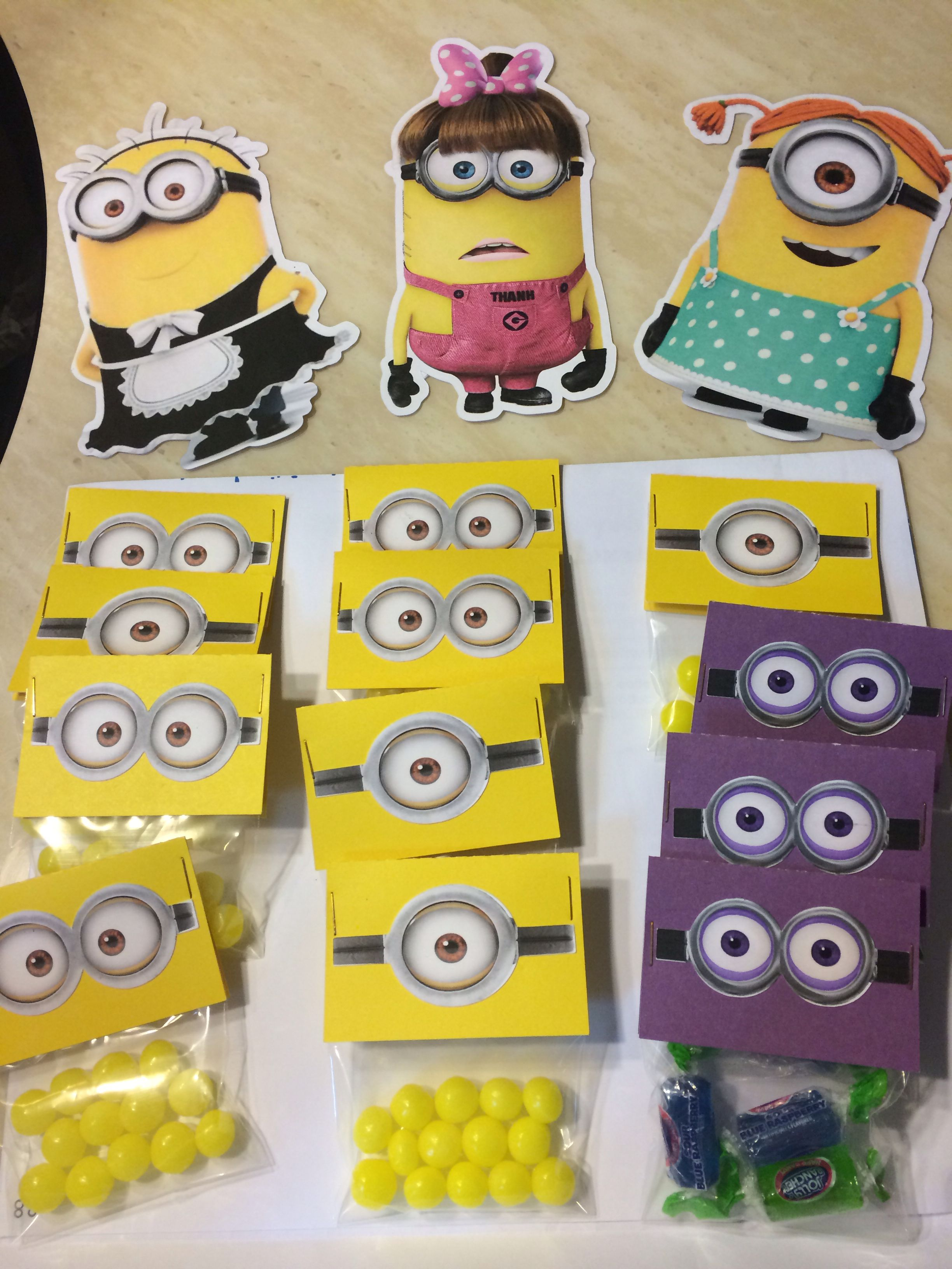 It is a graphic of Rare Minion Printable Cutouts