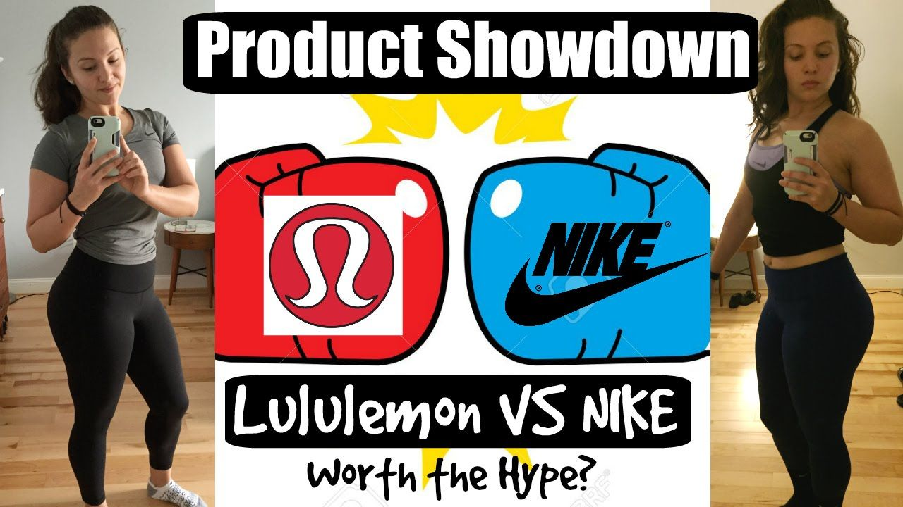 d688c32ada480 Product Showdown Lululemon Vs. Nike | High Rise Legging Reviews | Worth .