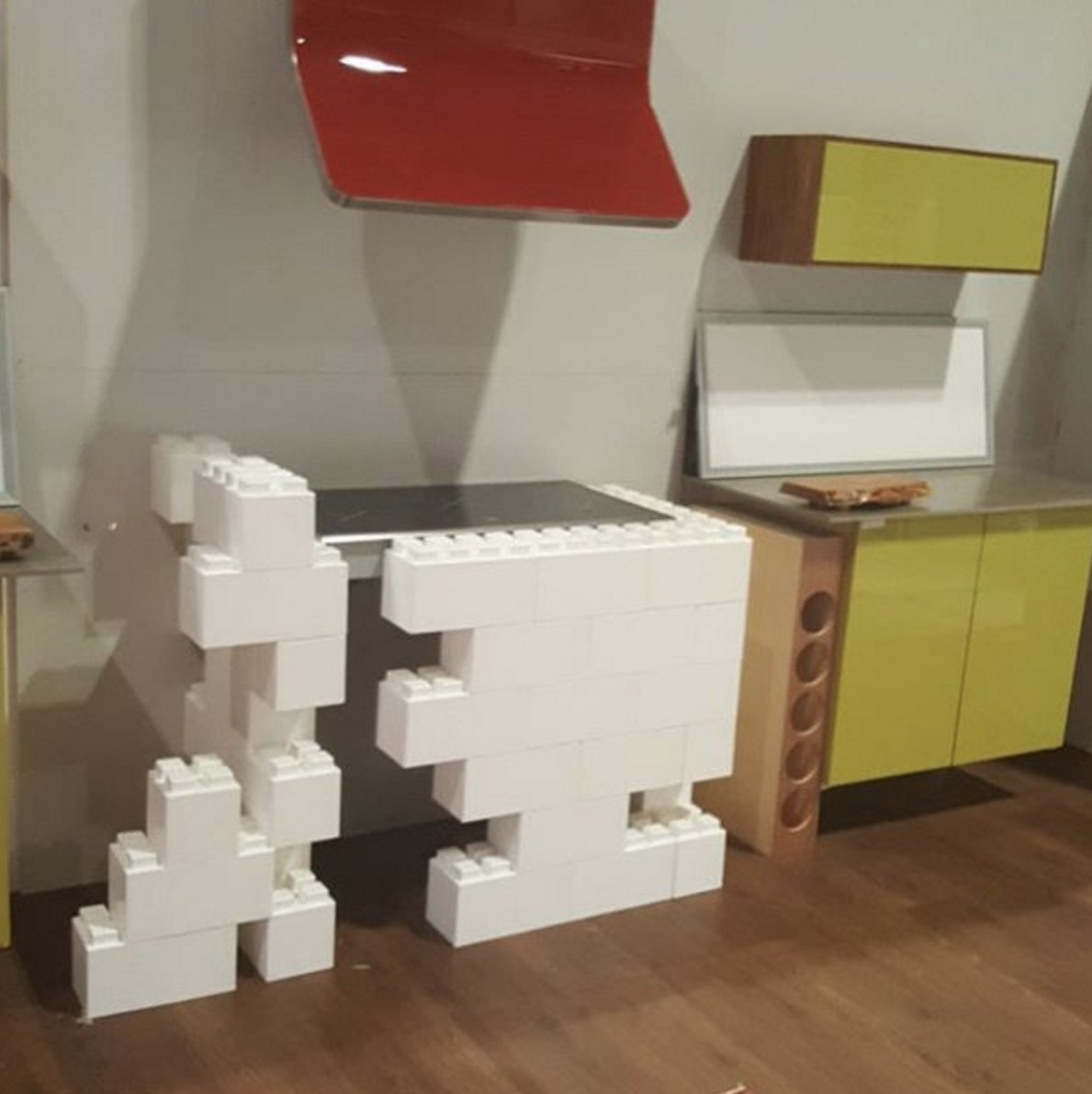 Pin On A Modular Kitchen: #building #blocks #modular #design #create #everblock #everblocksystems #DIY