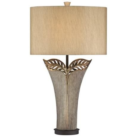 Kathy Ireland Makena Bronze Ceramic Table Lamp U2812 Lamps Plus Ceramic Table Lamps Lamp Table Lamp