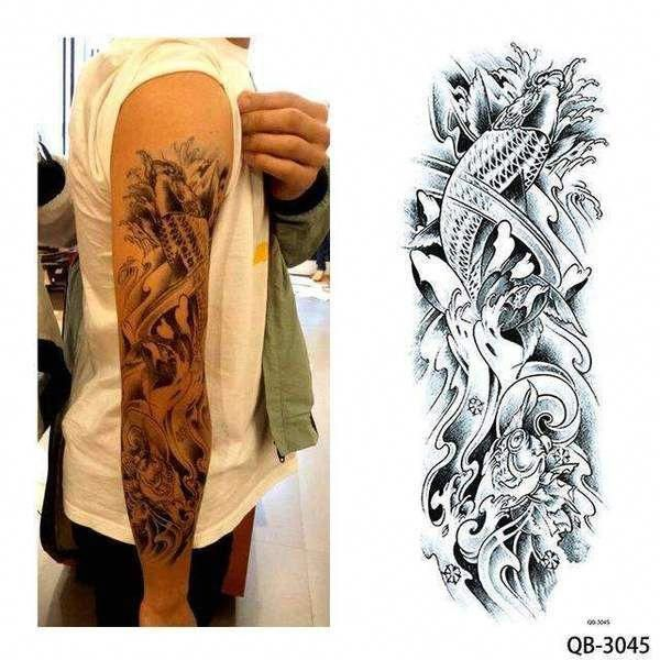 Sleeve Tattoos Full Sleevetattoos In 2020 Full Sleeve Tattoos Tattoo Sleeve Designs Black Sleeve Tattoo