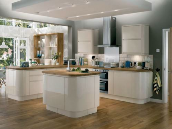 fitted kitchens cream. Delighful Cream Gloss Cream Integrated Handle  Fixco Fitted Kitchens Throughout