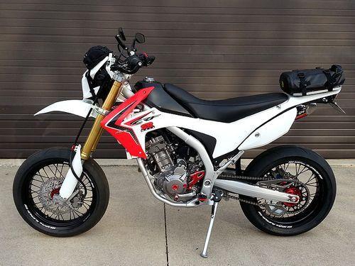 Honda Crf250l Dual Sport To Supermoto Conversion Motorcycles