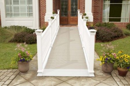 Lowe S Ramps Up Home Accessibility Porch With Ramp Handicap