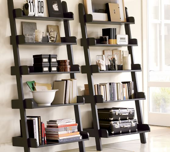 Studio Wall Shelf | Pottery Barn. For wall by TV. With a chair ...