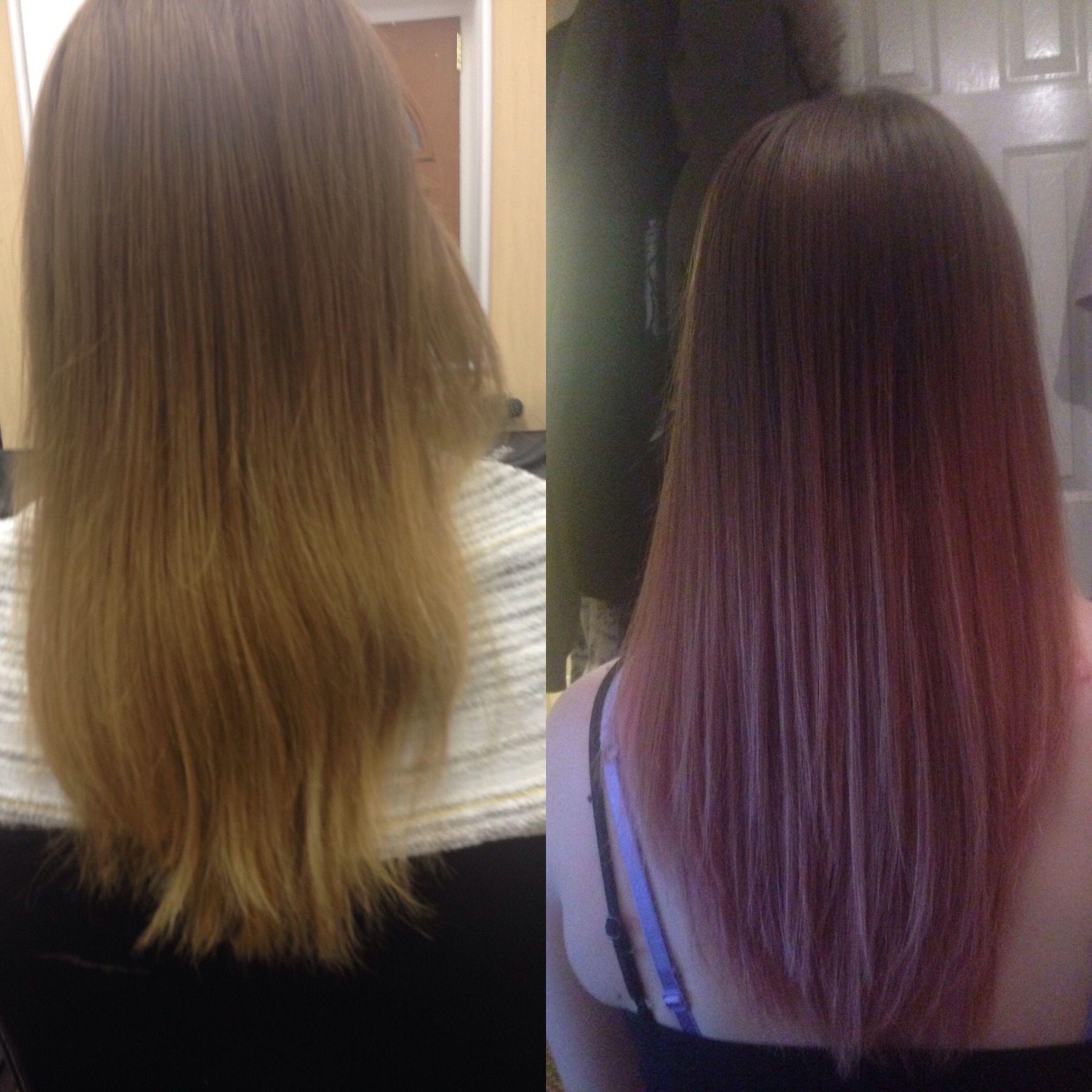 Rose gold ombré rose gold inspired hair pinterest