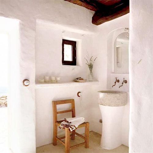 Schon Mediterran · Badezimmer WaschbeckenPiemontLehmRund ...
