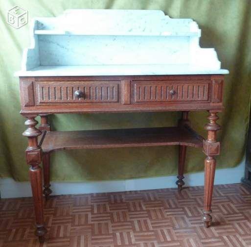 fabulous table de toilette ancienne ameublement yvelines leboncoinfr with le bon coin 78 ameublement. Black Bedroom Furniture Sets. Home Design Ideas