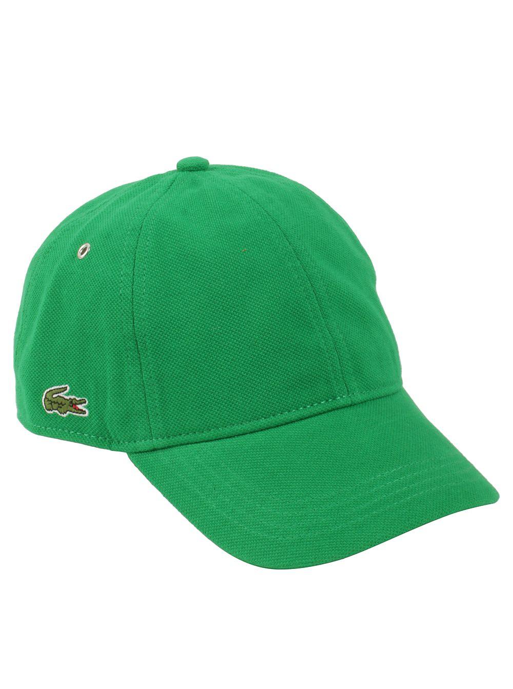 Lacoste Men/'s Pique Cotton Cap Style Hat Black