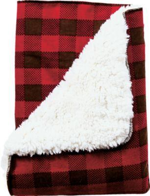 Northwoods Plush Receiving Blanket Receiving Blankets