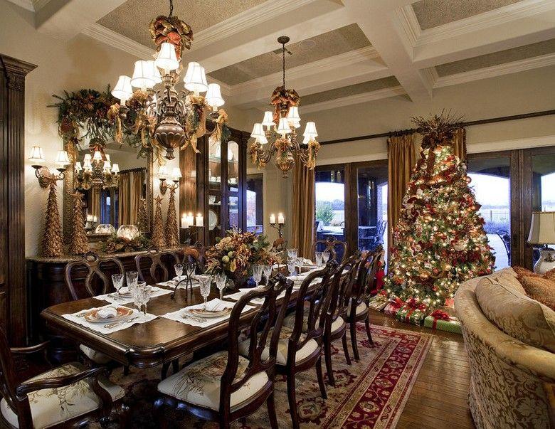 Amerikanische Weihnachtsdeko u2013 57 traditionelle Ideen für Weihnachtsschmuck  in Rot und Grün #amerikanische #ideen