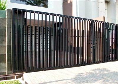 N Daftar Harga Pagar Minimalis Per Meter Gi M2 Besi Hollow Tempa Beton Stainless Steel Brc Pintu Bekas Murah Di Jakarta Malang