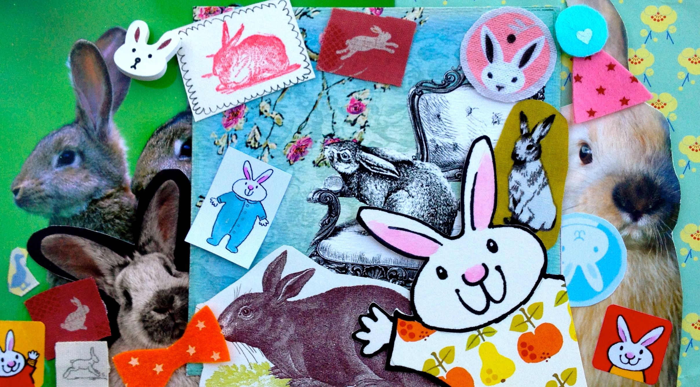 Children S Easter Collage Competition From Clara Vulliamy And Her