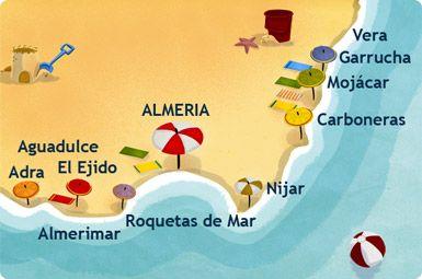 Pin De Viajes Peakplay En Costas De España Costa De Almeria Almería Andalucia España