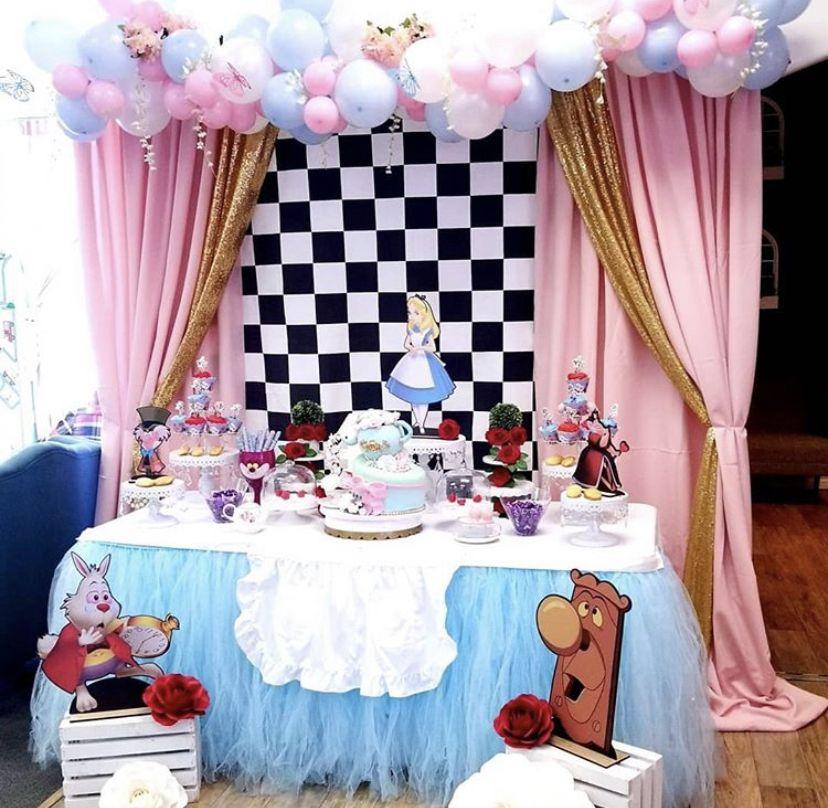 Alice In Wonderland Theme Alice In Wonderland Tea Party Birthday Alice In Wonderland Birthday Alice In Wonderland Tea Party
