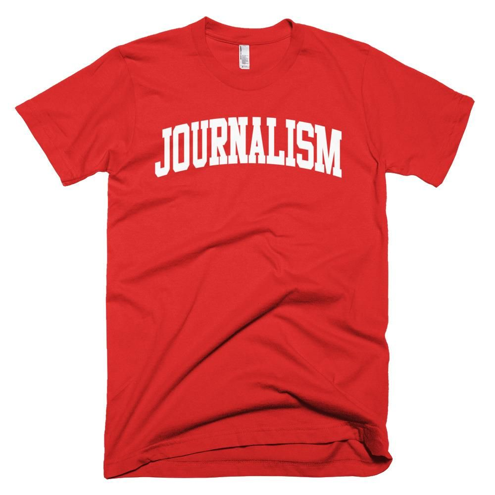 a64db6ef Journalism Major T-Shirt in 2019 | Products | Mens tops, T shirt ...