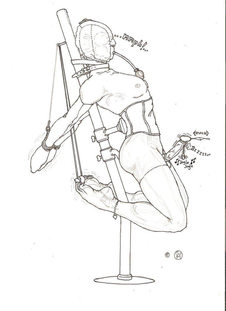 Chimera self bondage fun