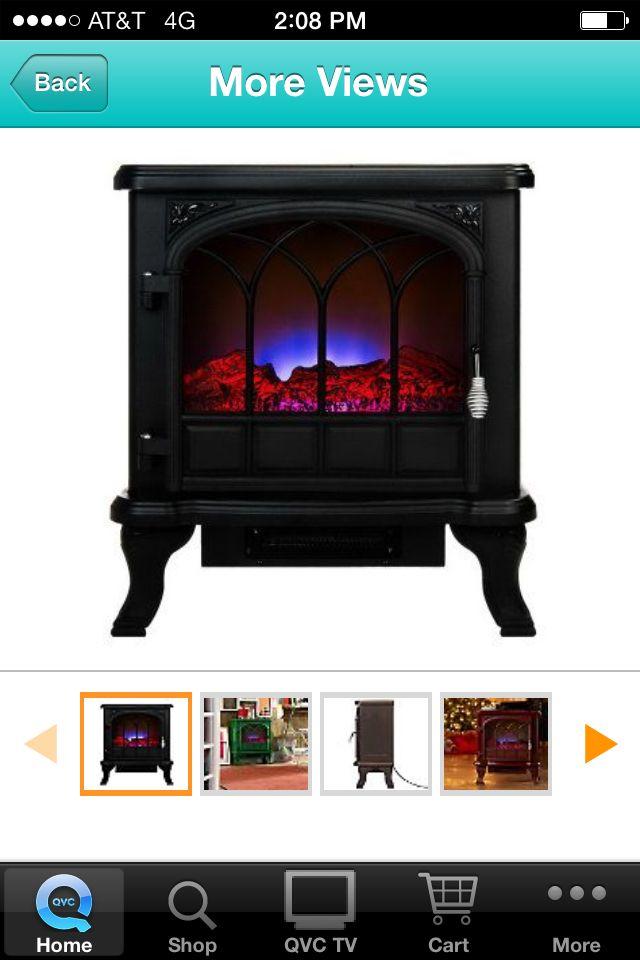 Dura flame on Qvc love it Tv cart, Home appliances, Home