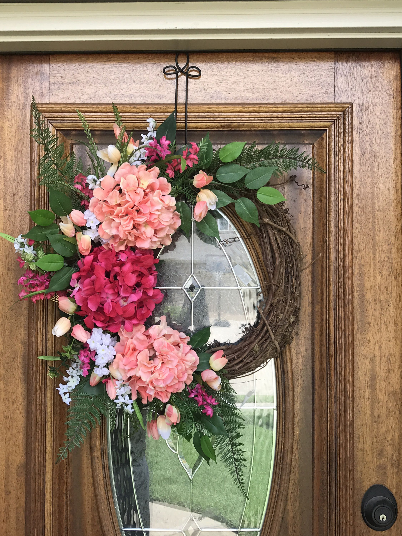 Summer Front Door Wreaths Summer Wreaths Double Door Wreaths