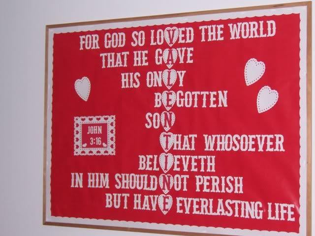 Christian Bulletin Board Ideas Christian Valentine Bulletin Boards